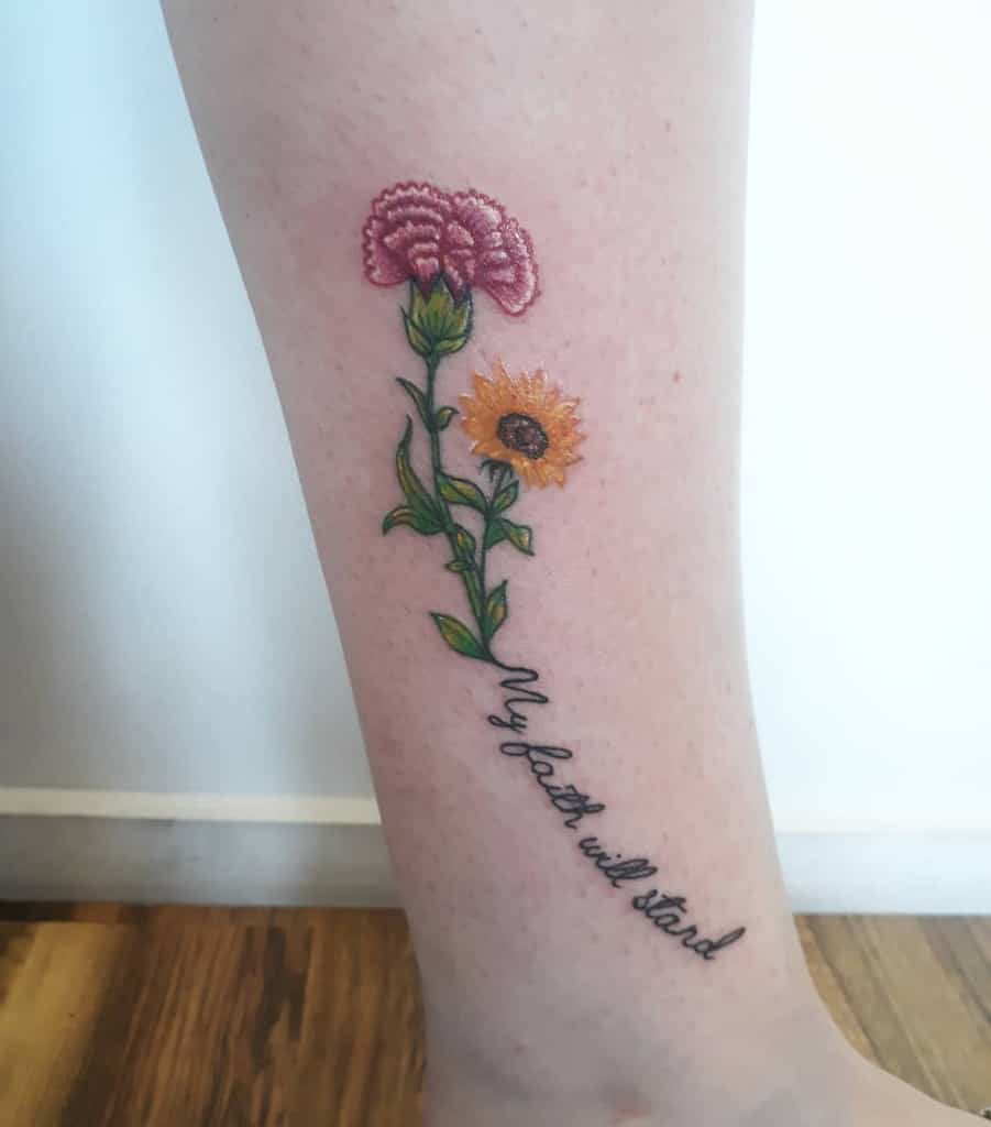 Small Flower Ankle Foot Tattoos Tiaani.riches Tattoos