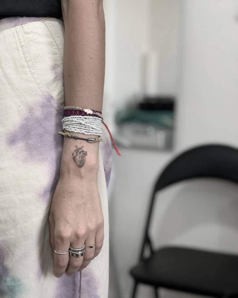 Small Heart Arm Tattoos Michele Disogra