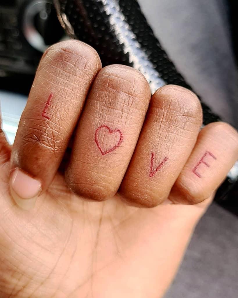 Small Heart Finger Tattoos jjjacqz