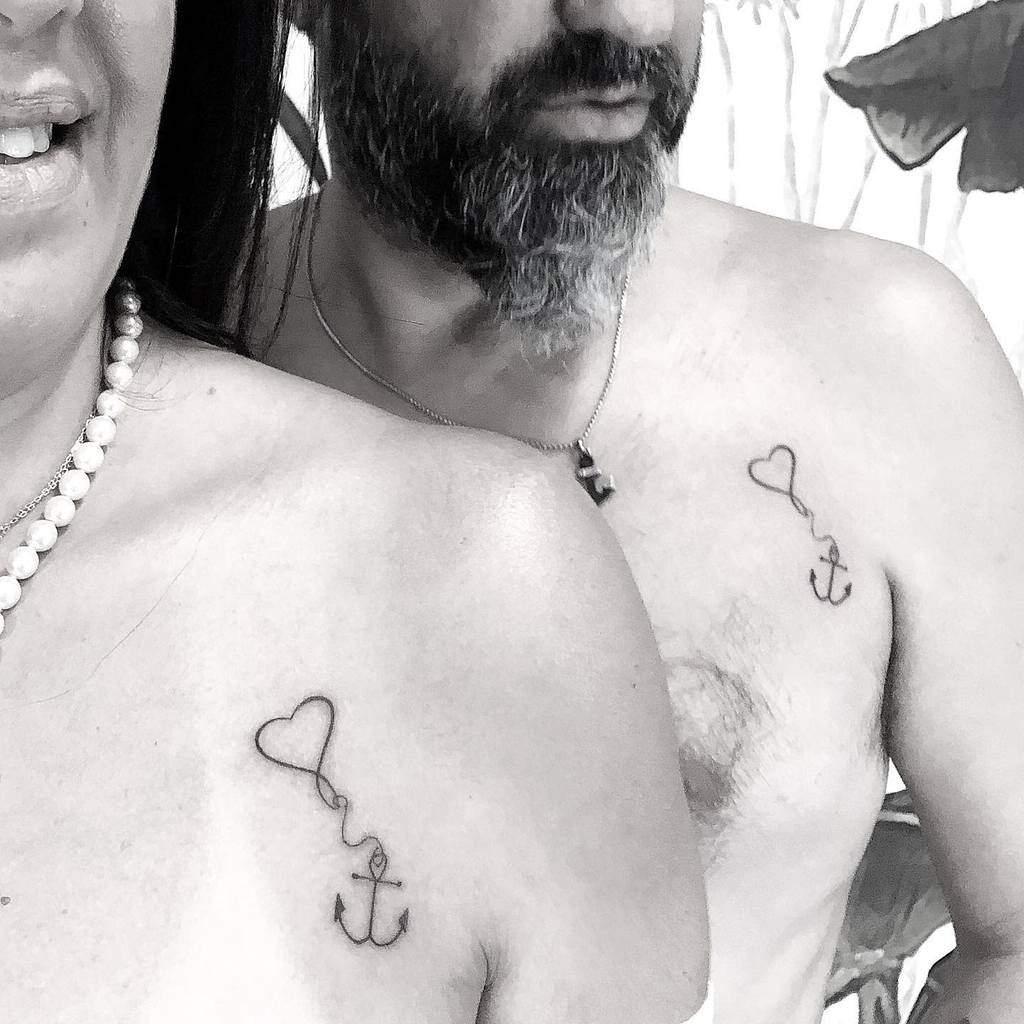 Small Heart Shoulder Tattoos Noaholinger