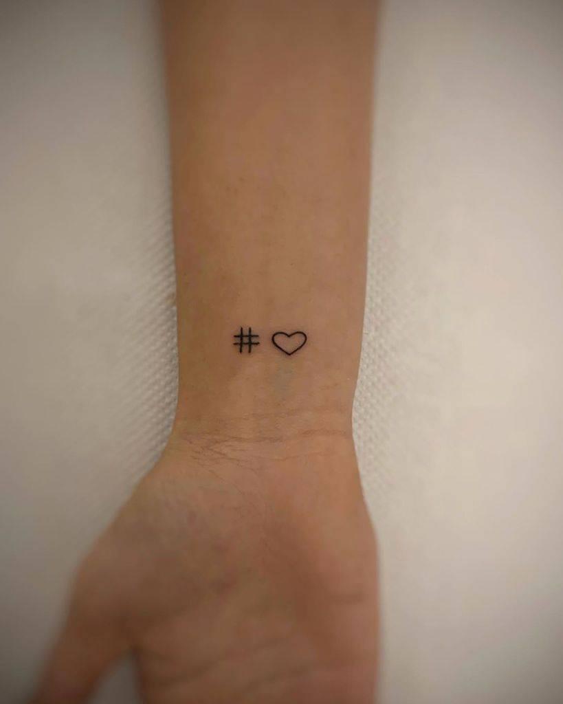 Small Heart Wrist Tattoos F Passalacqua Tattoo Portfolio