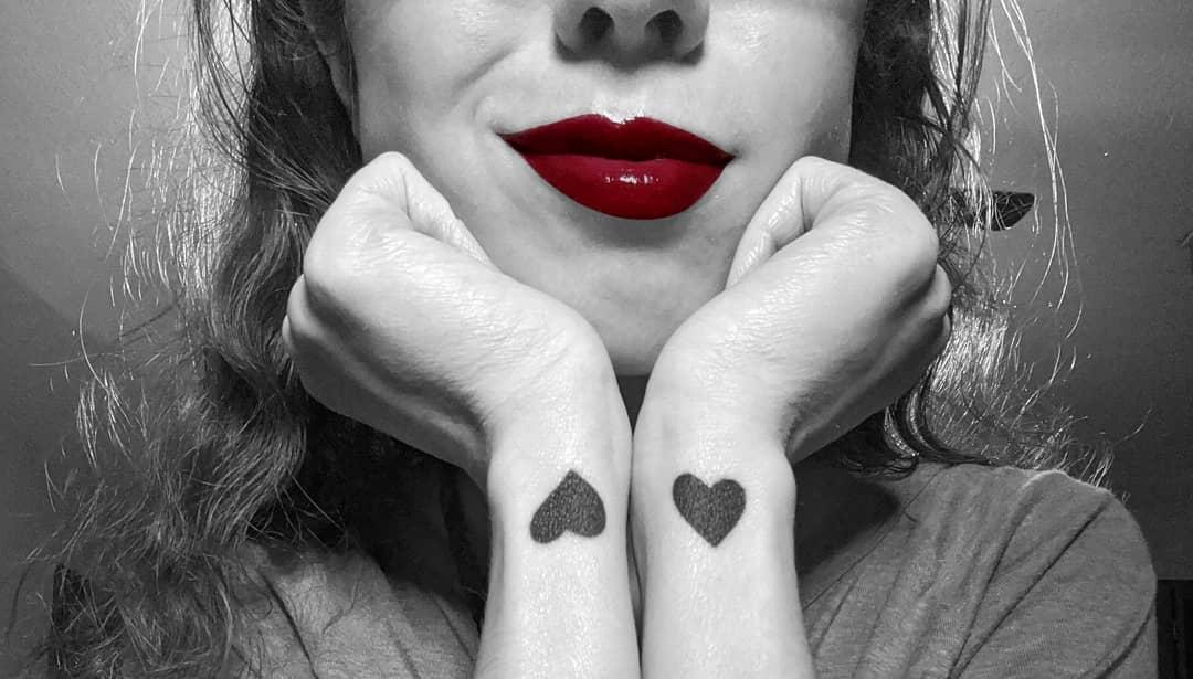 Small Heart Wrist Tattoos Zeikinn
