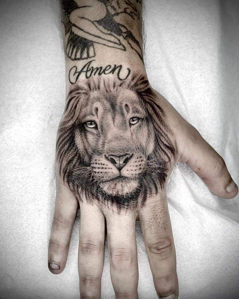 Top 51 Best Small Lion Tattoo Ideas - [2020 Inspiration Guide]