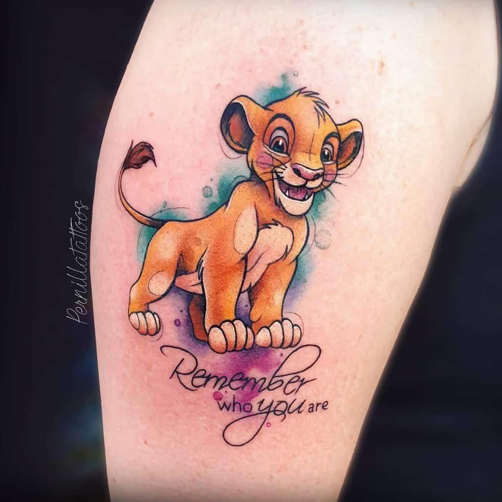 Small Lion King Tattoos pernillatattoos