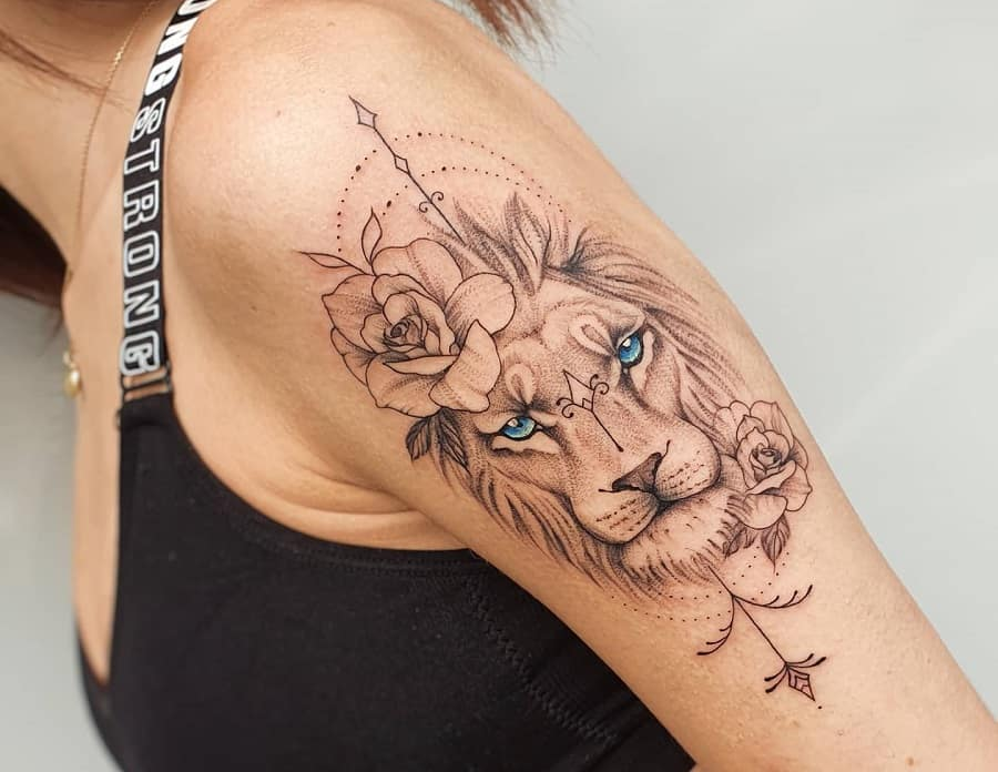 Top 51 Best Small Lion Tattoo Ideas – [2020 Inspiration Guide]