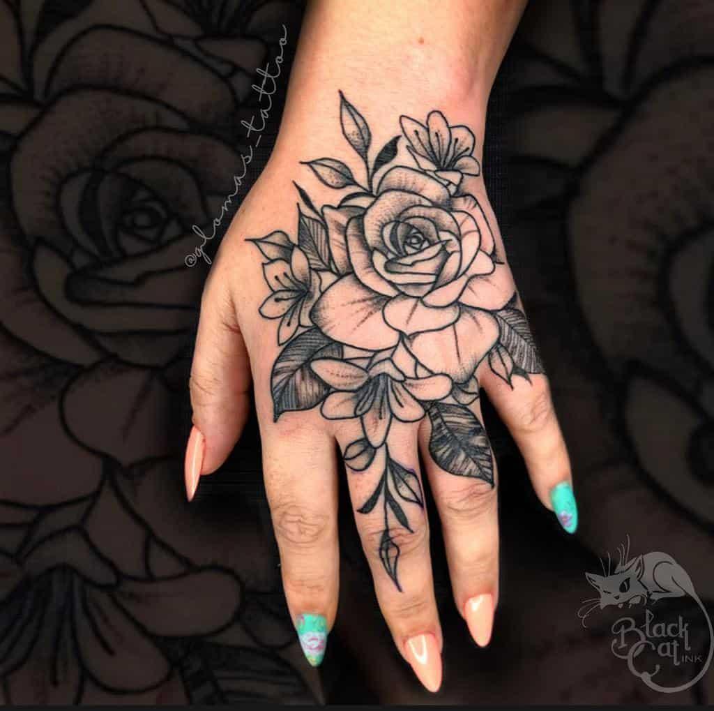 Small Meaningful Hand Finger Tattoos Glomas Tattoo
