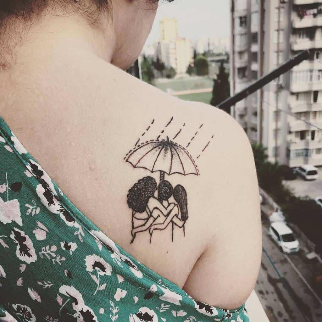 Small Meaningful Shoulder Tattoos Neiti Inky
