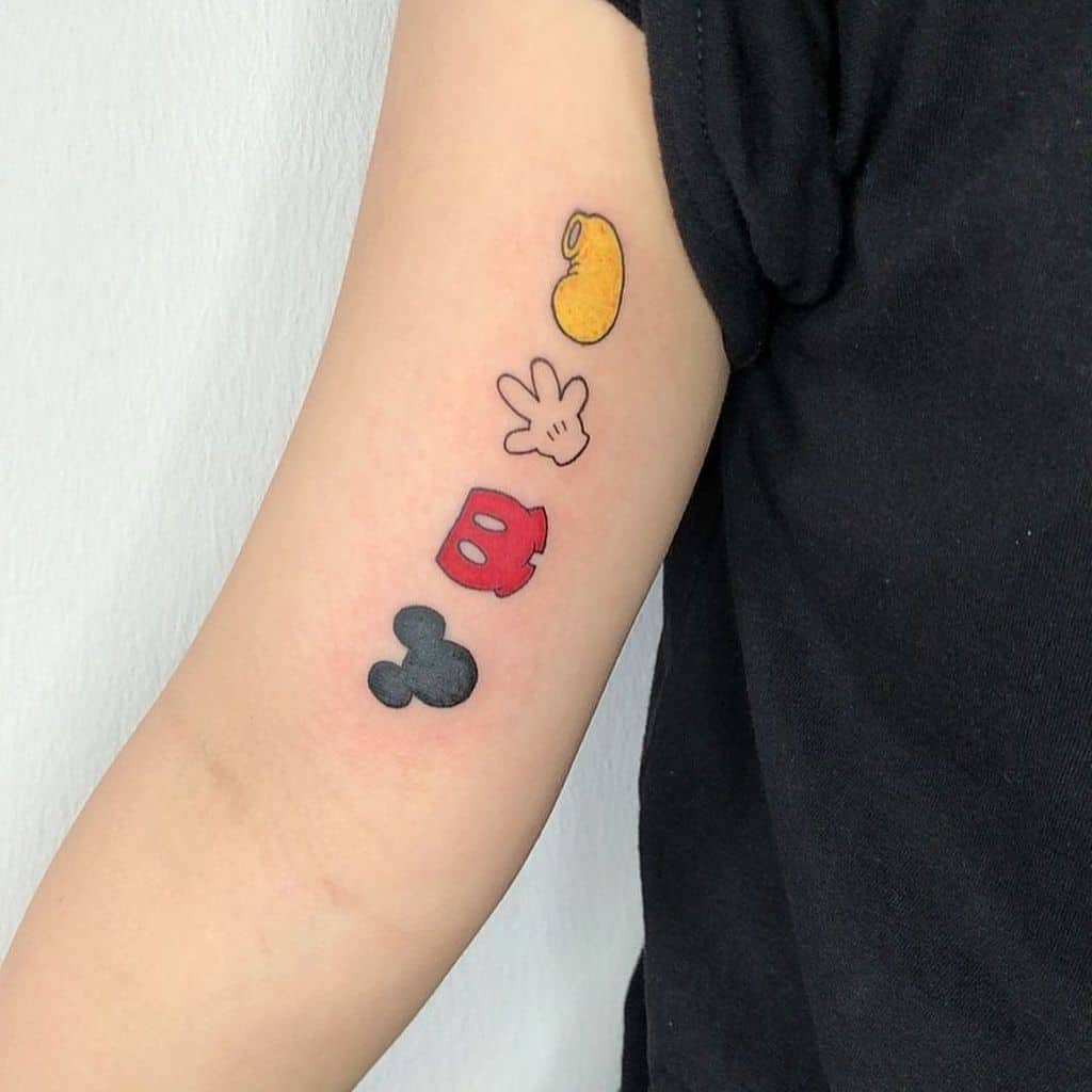Small Meaningful Upperarm Tattoos 2 yingyytattoo