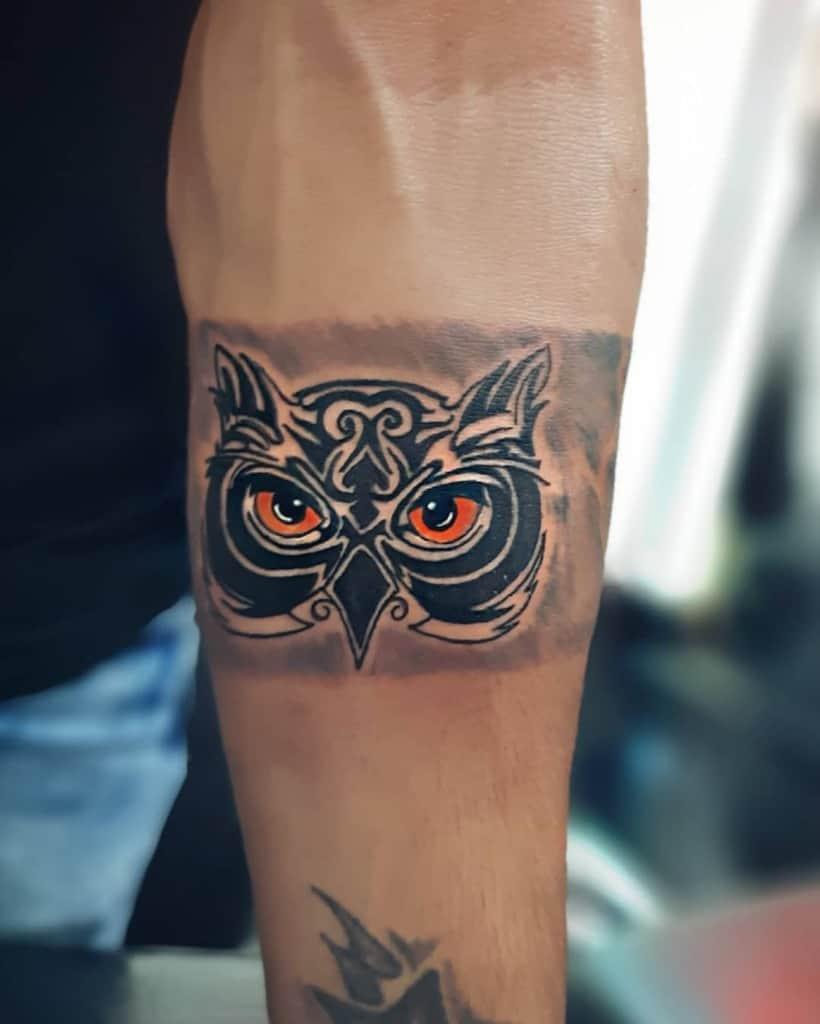 Small Owl Forearm Tattoos bob_tattoo00