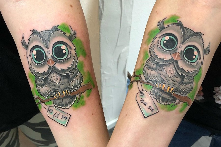 Top 50+ Best Small Owl Tattoo Ideas – [2021 Inspiration Guide]