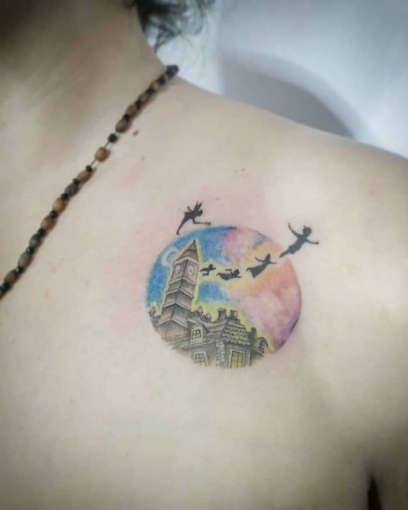 Small Peter Pan Tattoo Athanasia Di Tat