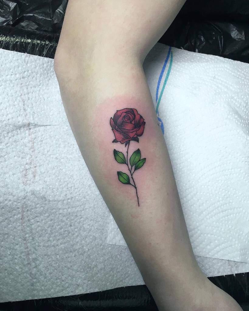Small Rose Forearm Tattoos Gabikatattoo