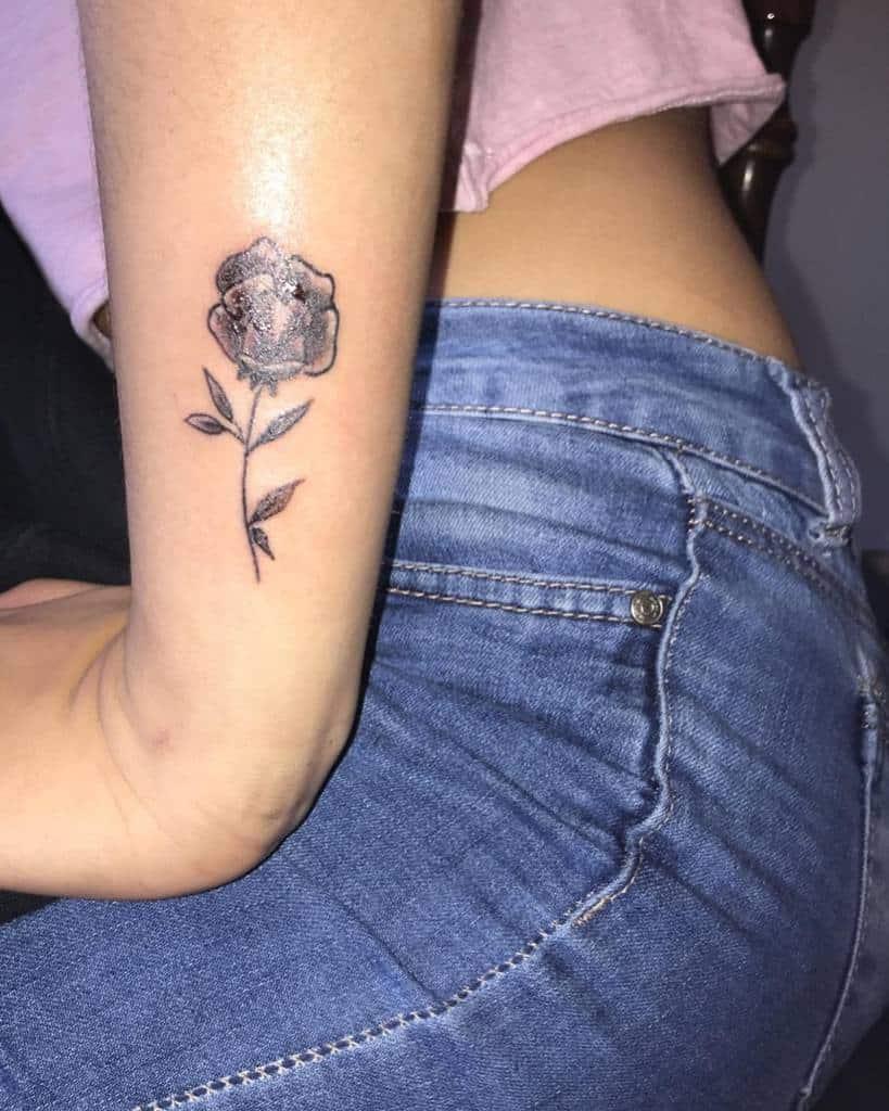 Small Rose Wrist Tattoos Alxttoos