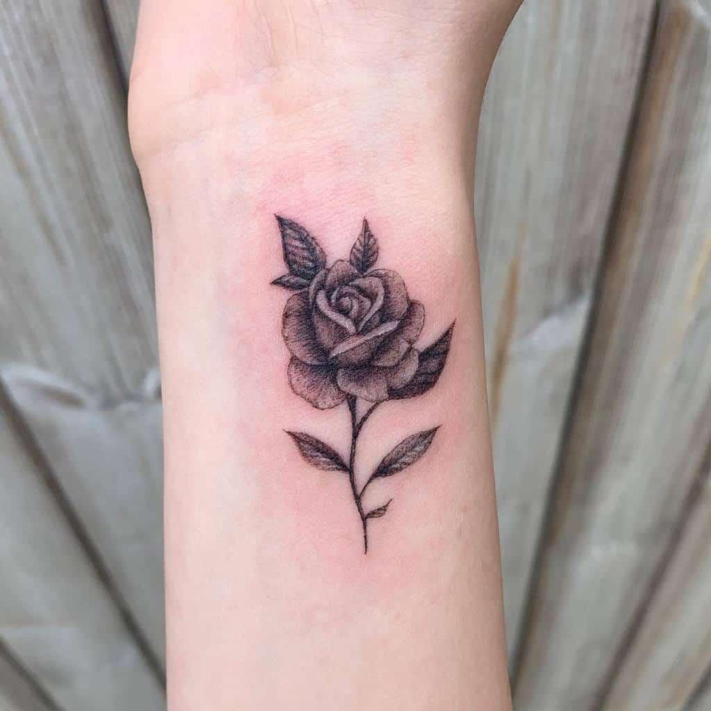 Small Rose Wrist Tattoos Becca Tattoo