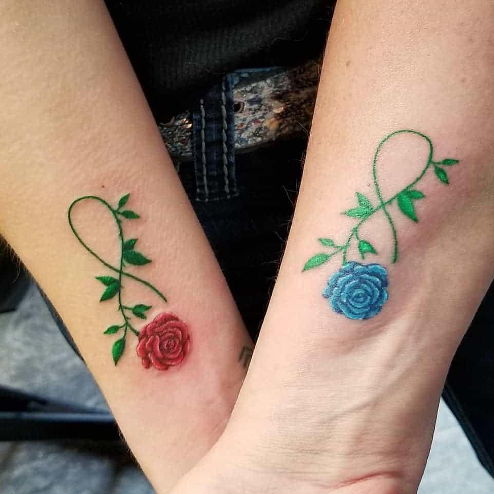 Small Rose Wrist Tattoos bloated_daisy
