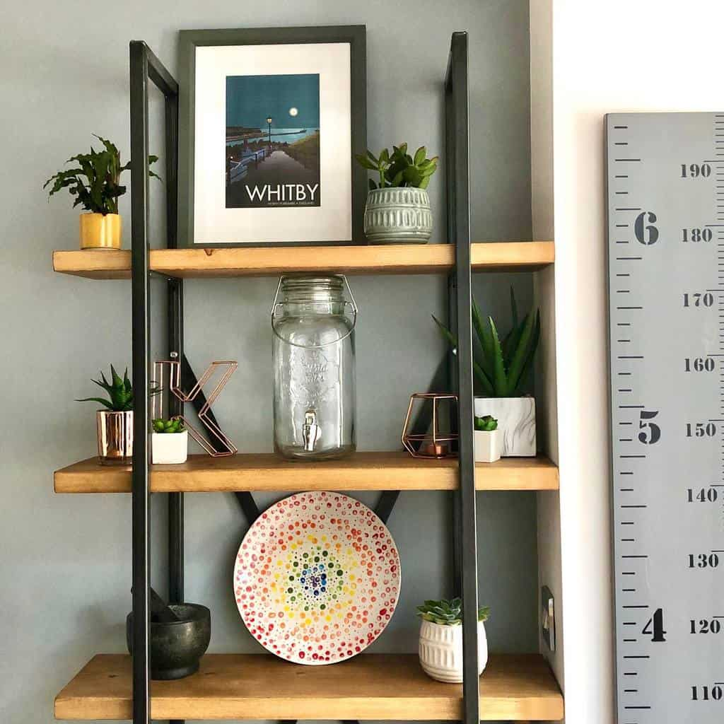 Small Shelving Ideas rainbows_on_the_hill