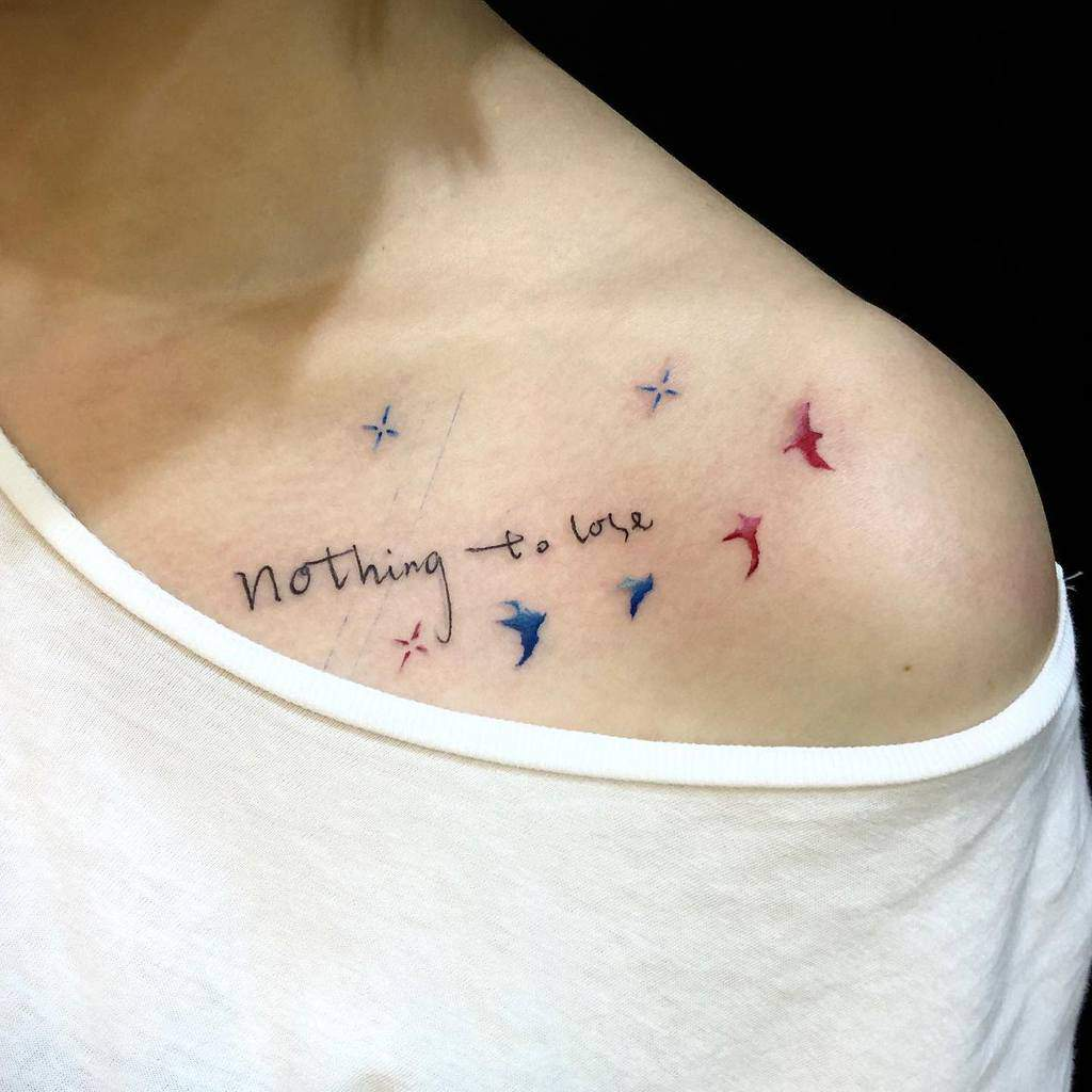 Small Shoulder Tattoo For Women Hkinkt2