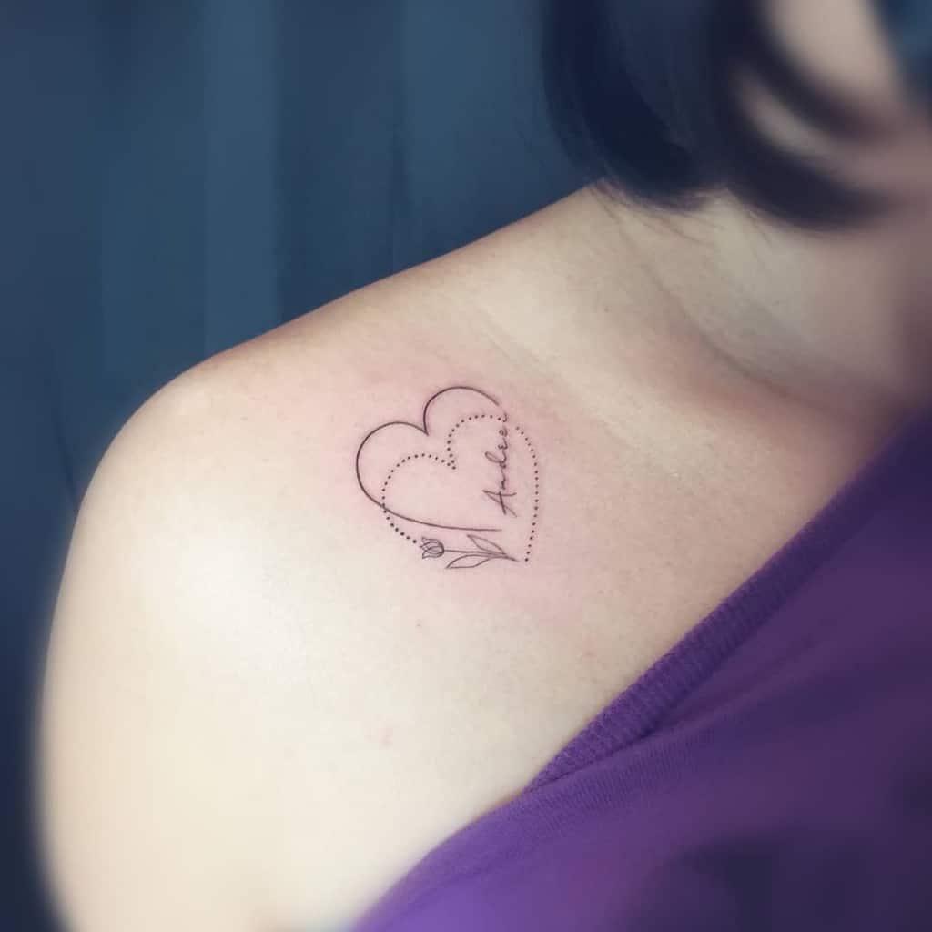 Small Shoulder Tattoo For Women Jiek Wonder