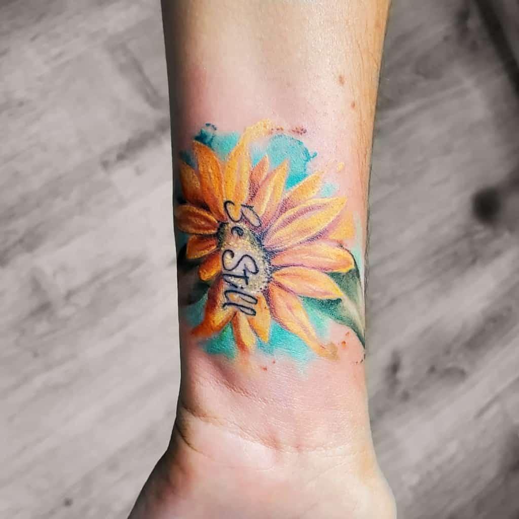 Top 57 Best Small Sunflower Tattoo Ideas - [2021 ...