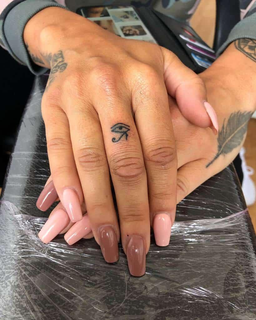 Small Symbol Finger Tattoos tattsbyfaatttz