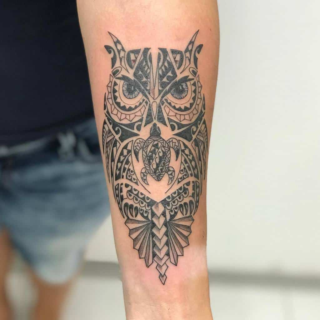 Small Tribal Animal Tattoos michael_tattoo_pierc