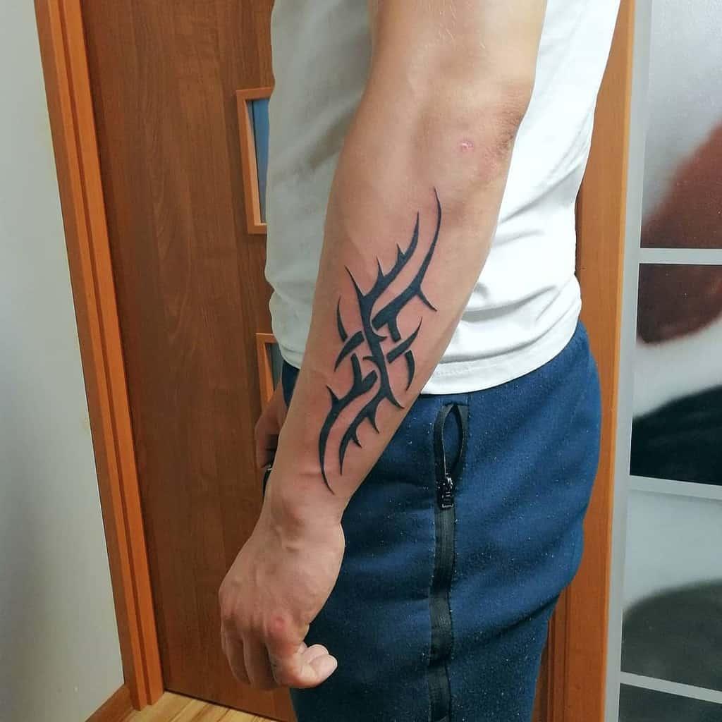 Small Tribal Arm Tattoos _colorofmysoul_