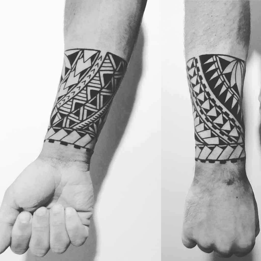 Small Tribal Arm Tattoos fungusart