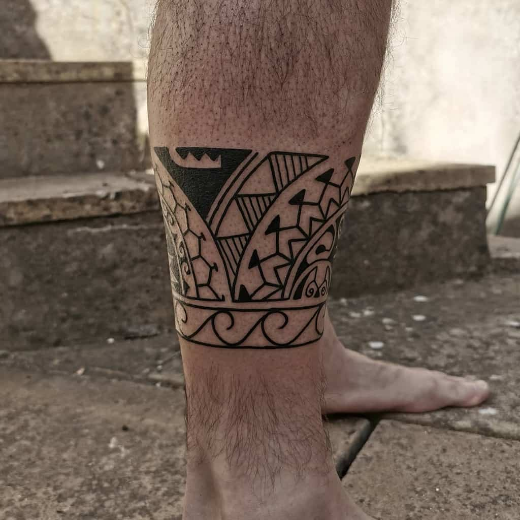 Small Tribal Polynesian Tattoos woodyeightfoldtattoo