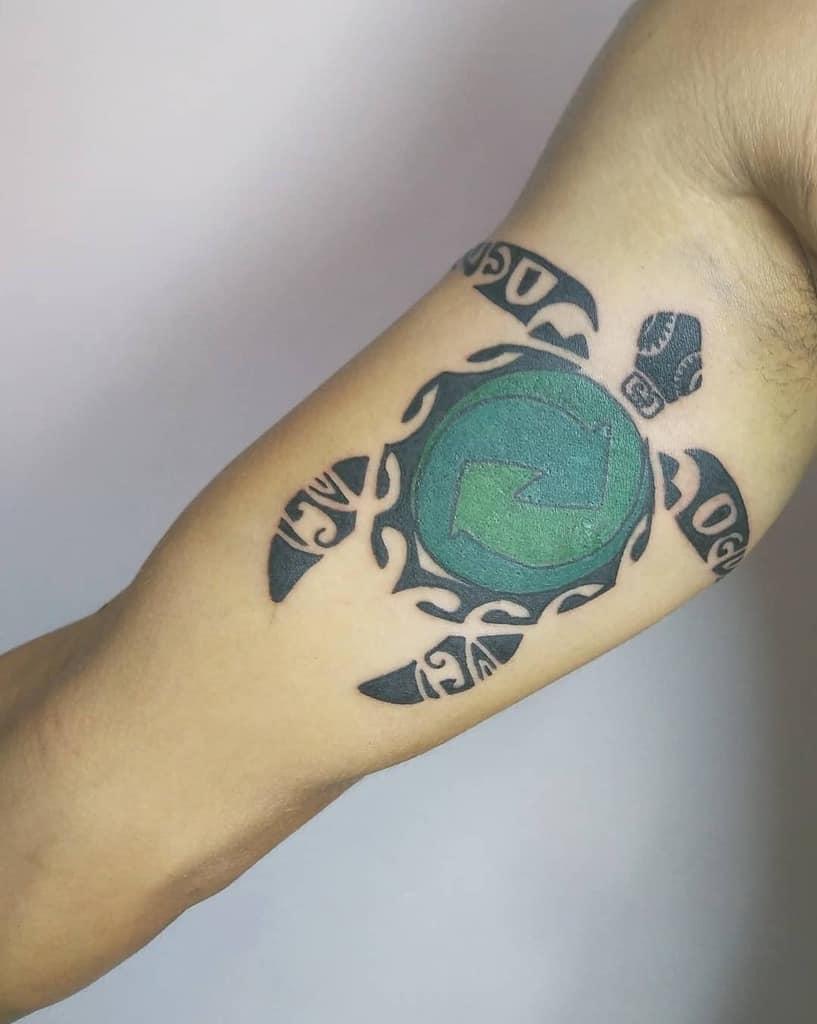 Small Tribal Turtle Tattoos alejacl_d
