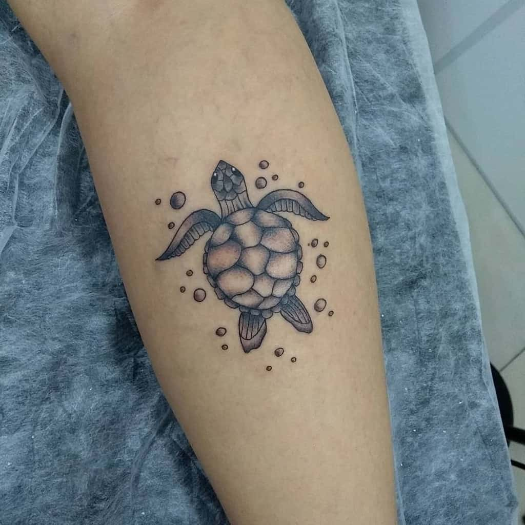Small Turtle Forearm Tattoos jow13tattoo
