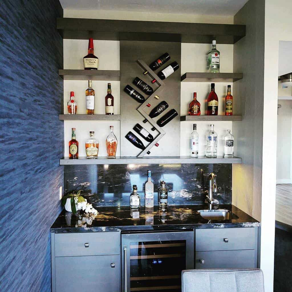 Small Wet Bar Ideas sinteriordesignscottsdale