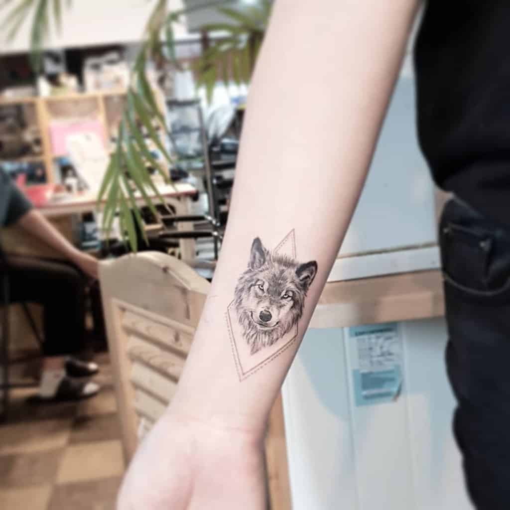 Top 49 Best Small Wolf Tattoo Ideas - [2020 Inspiration Guide]
