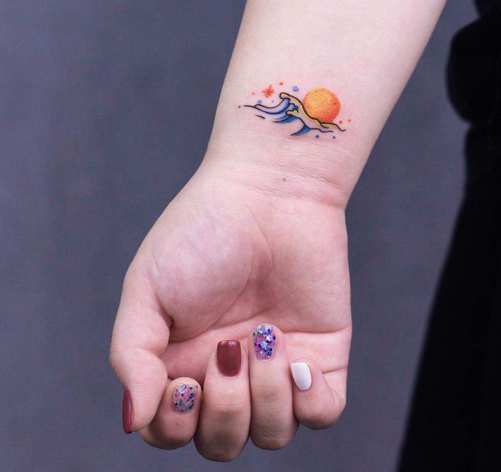 Small Wrist Tattoos For Female Suicidxpolicx
