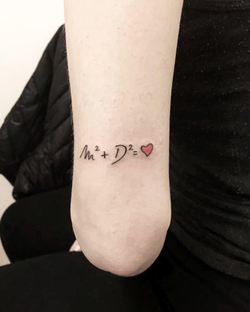 Small And Tiny Heart Tattoo Sasa Salva Tore