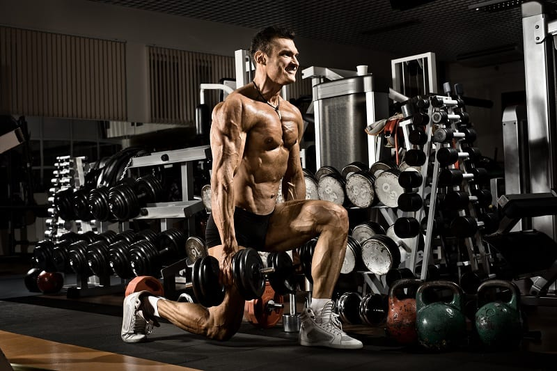 Squat-and-Press-Dumbbell-Exercise