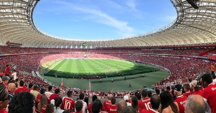 Crowded Sports Stadium