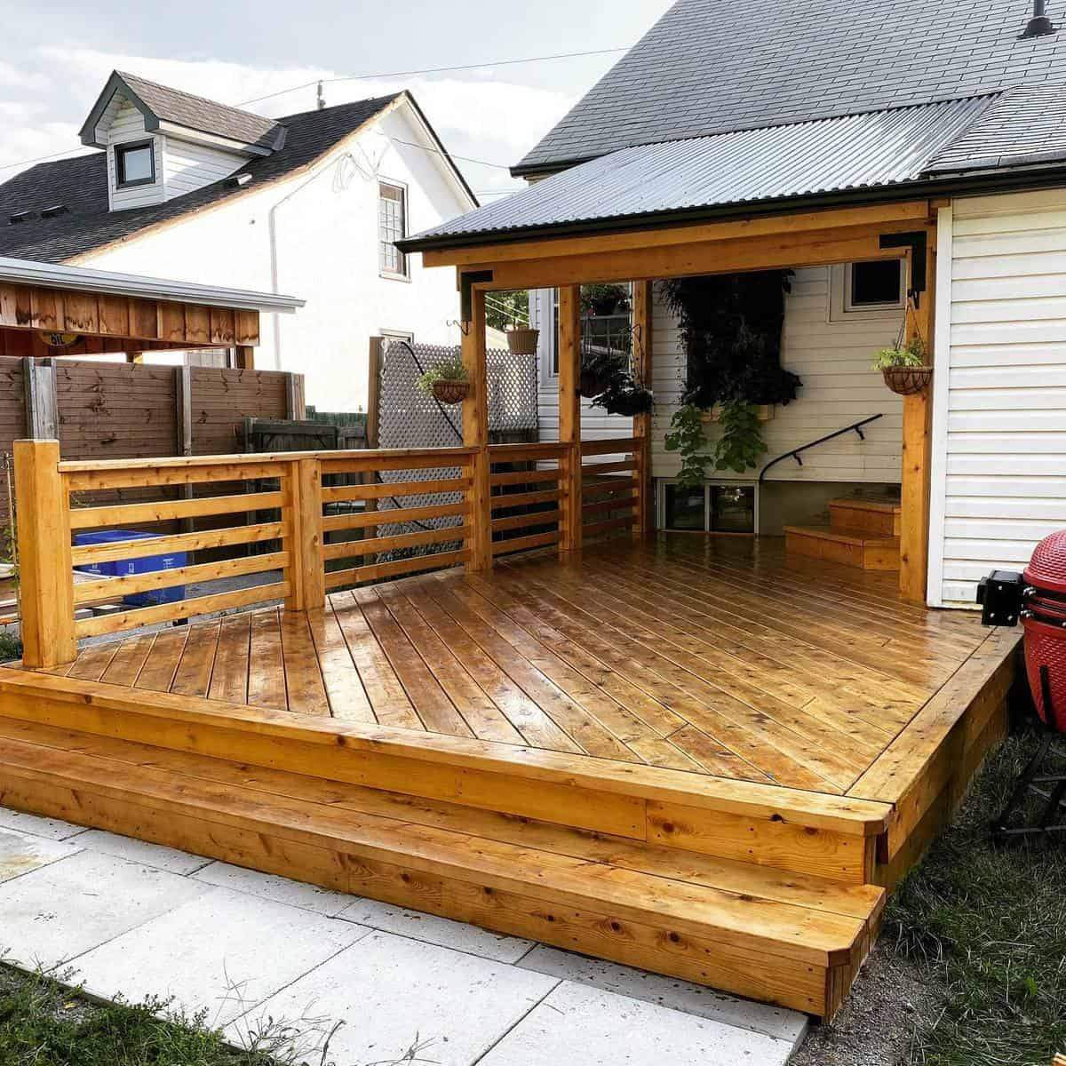 Stain Deck Color Ideas -mikesmithoneword