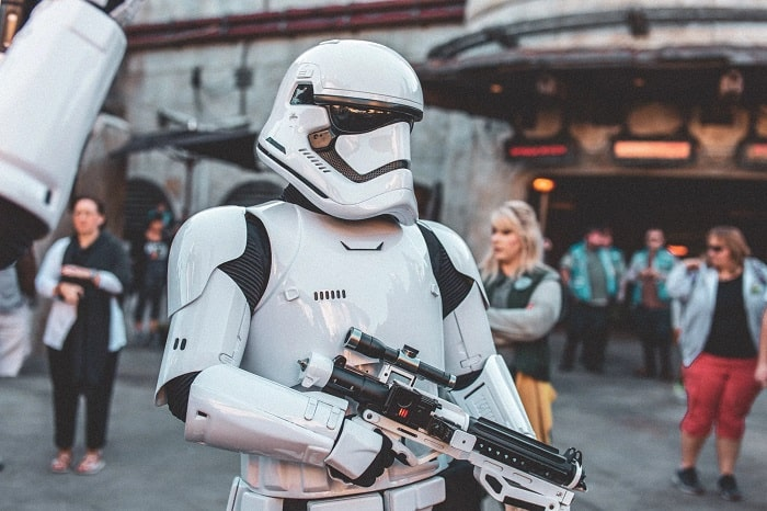 Star Wars Stormtrooper At Convention