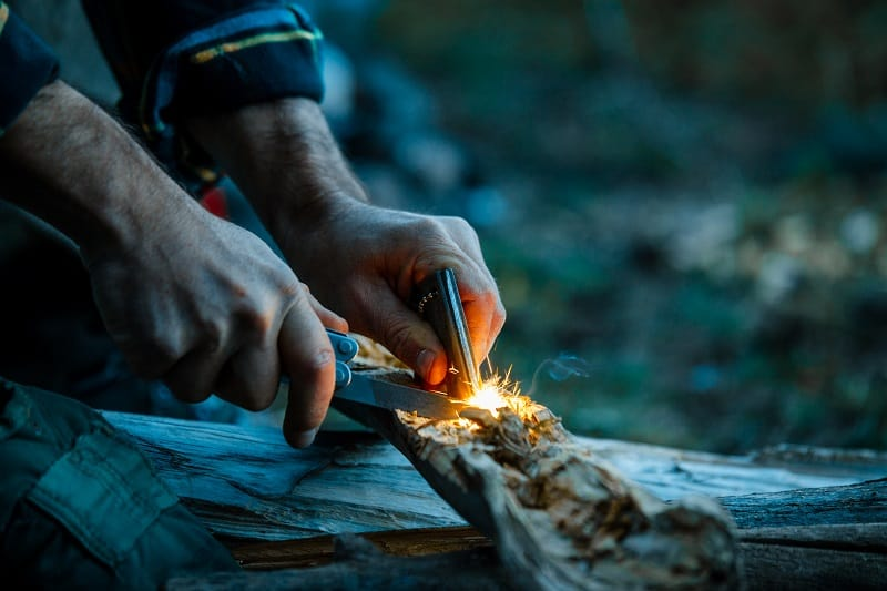Start a Fire – Tactics And Techniques To Master Wilderness Survival