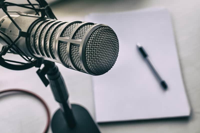 Start a podcast.