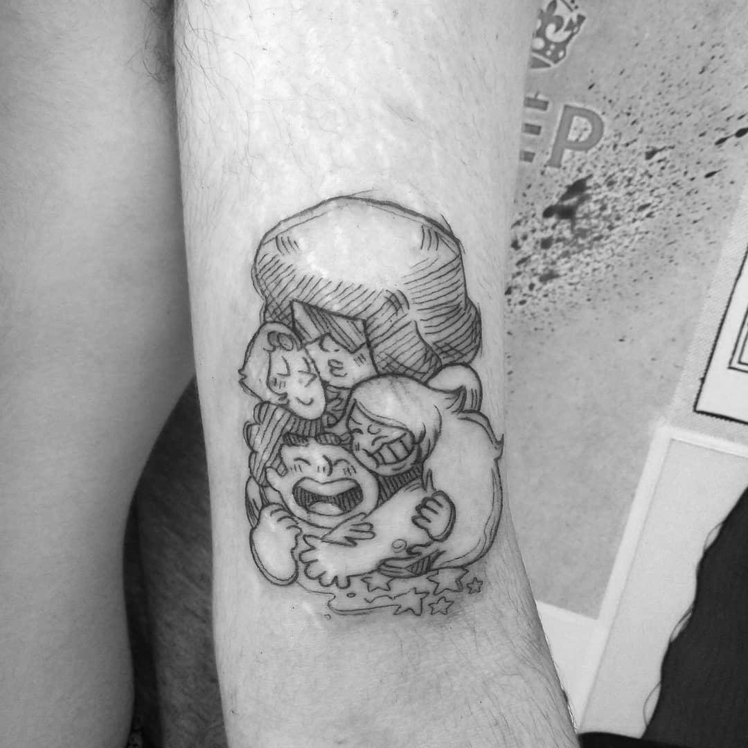 Arm Steven Universe Tattoo -floortatu