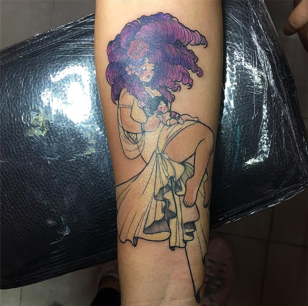 Arm Steven Universe Tattoo -missletotattoo