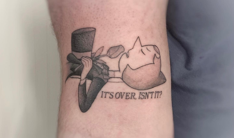 Pearl Steven Universe Tattoo -samcedartattoo
