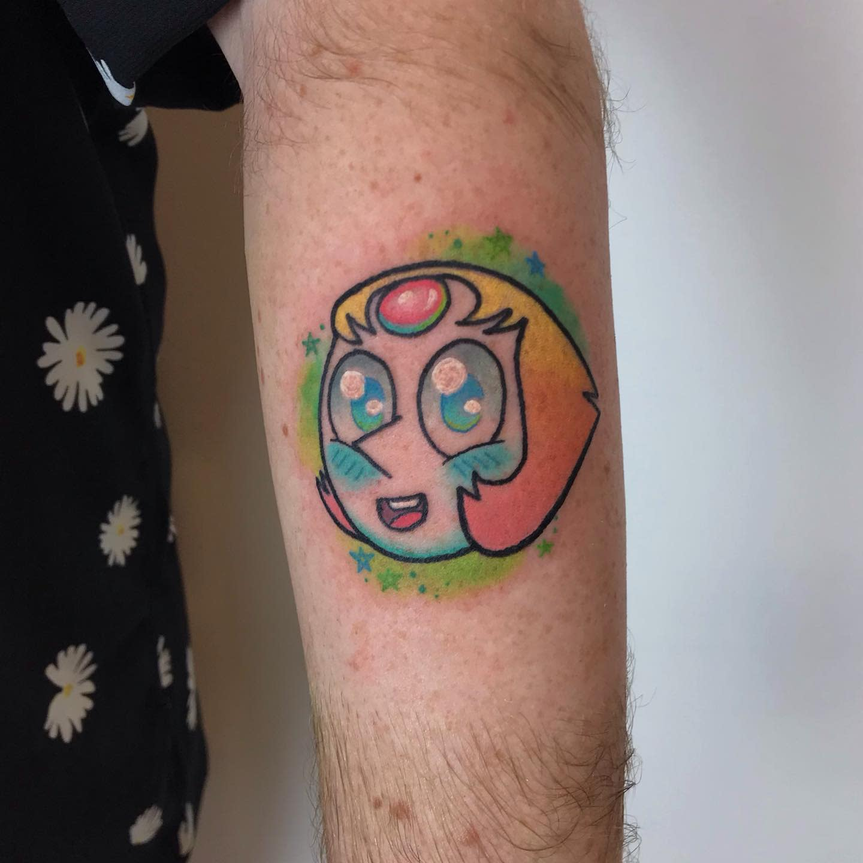 Pearl Steven Universe Tattoo -tattoobretony
