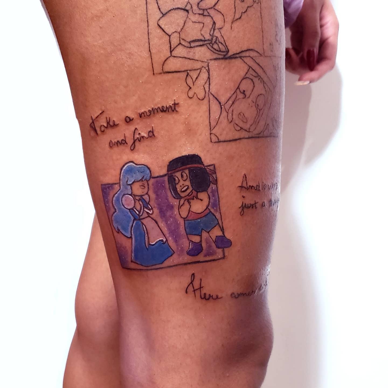 Kleines Steven Universe Tattoo -himeink