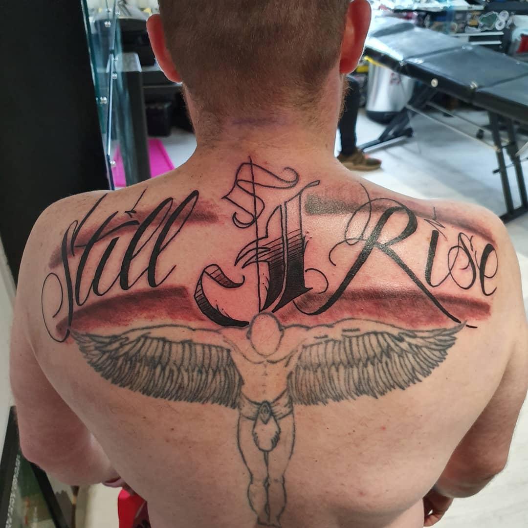 Back Still I Rise Tattoo -maccatattoos