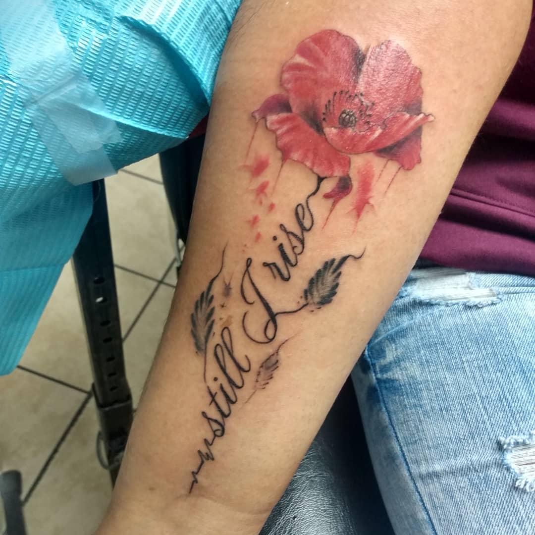 Forearm Still I Rise Tattoo -chucktat2
