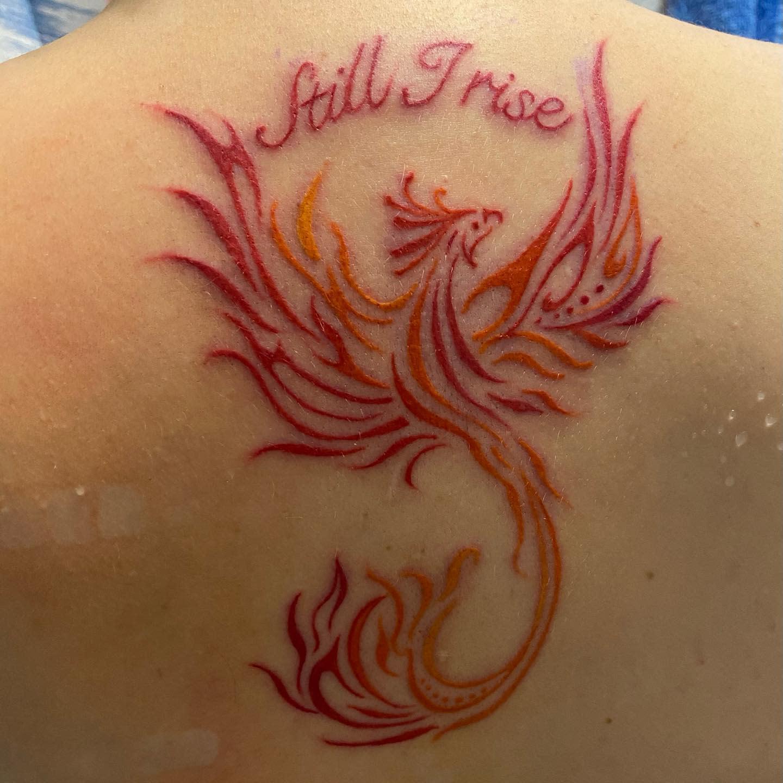 Phoenix Still I Rise Tattoo -demonsrunlit