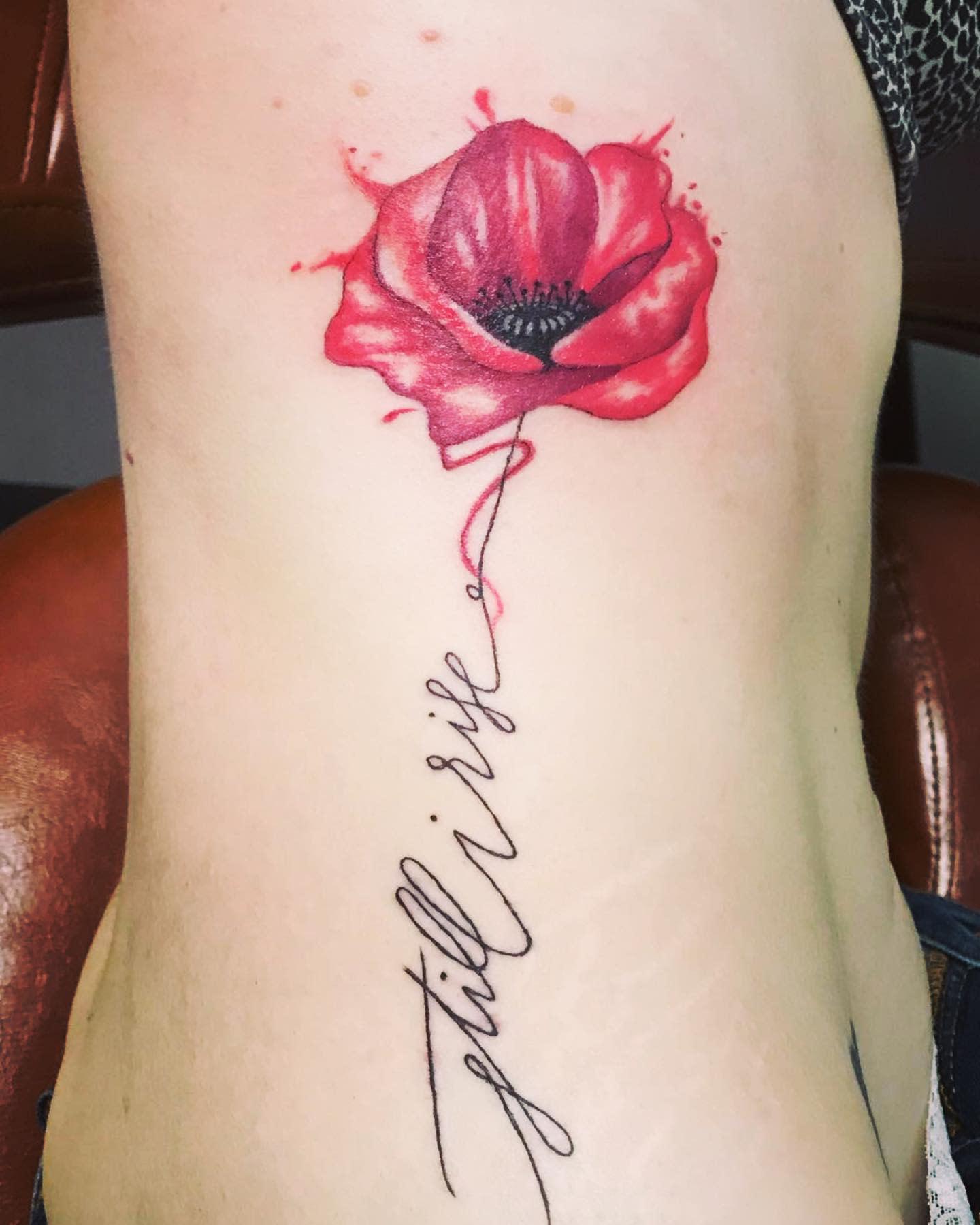 Rib Still I Rise Tattoo -artstudioann