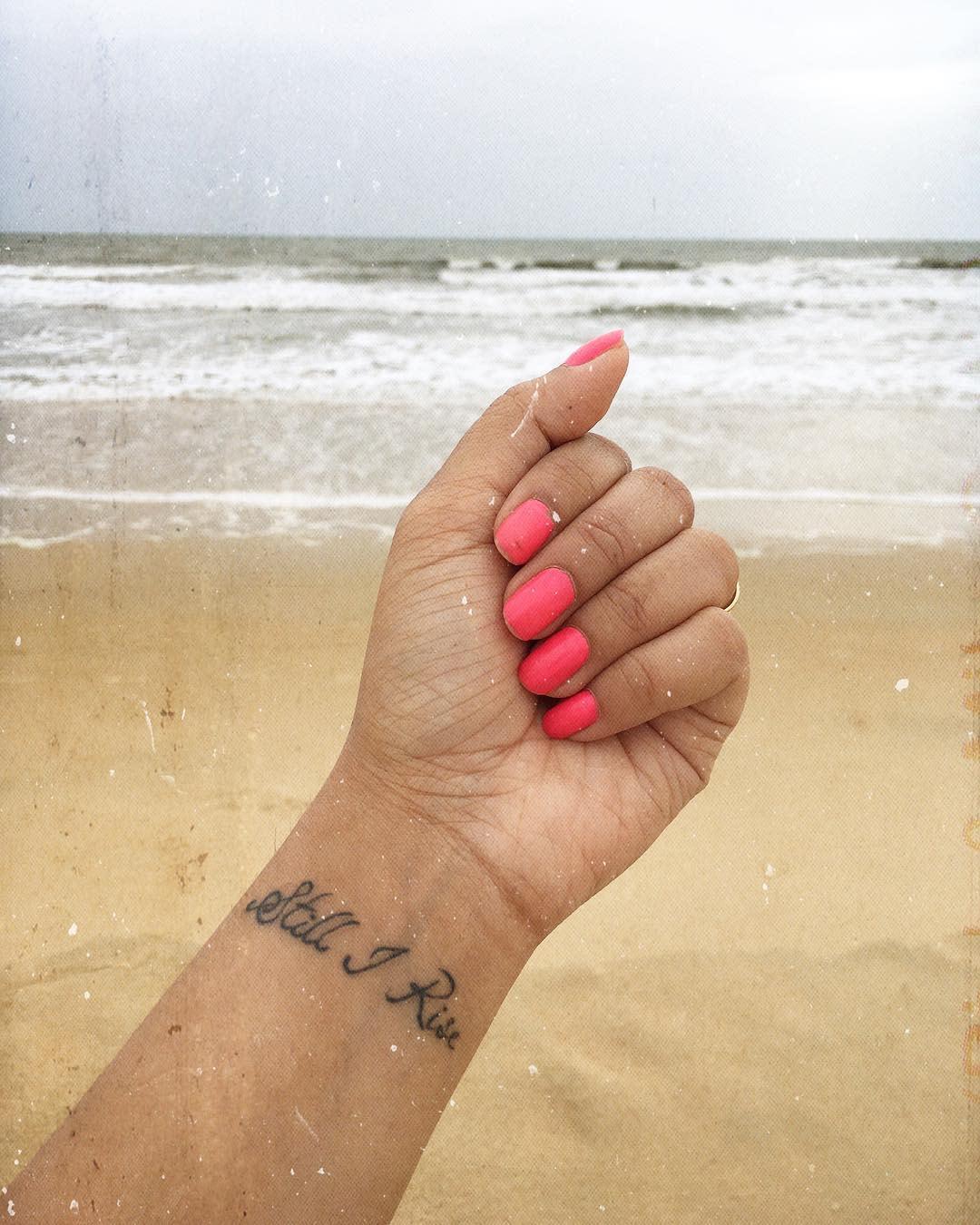 Wrist Still I Rise Tattoo -realgirlco